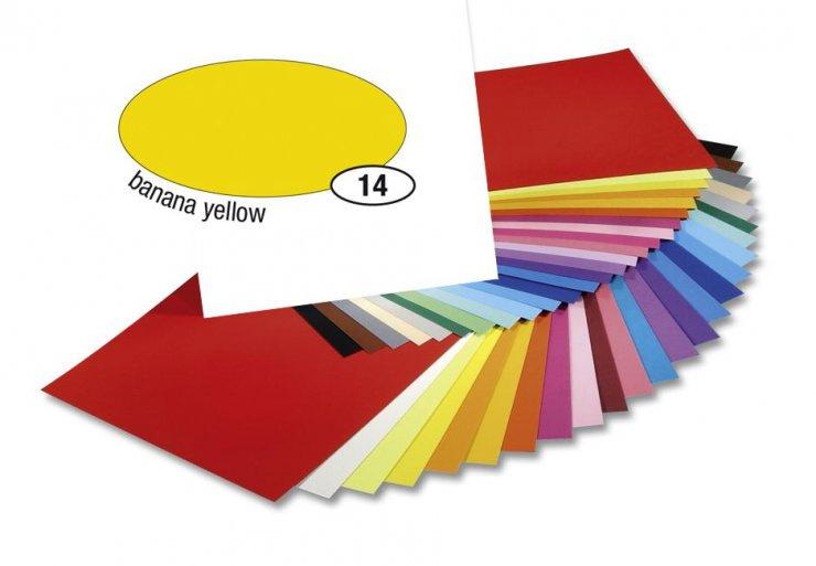 Barevný papír 300g A4- Žlutý