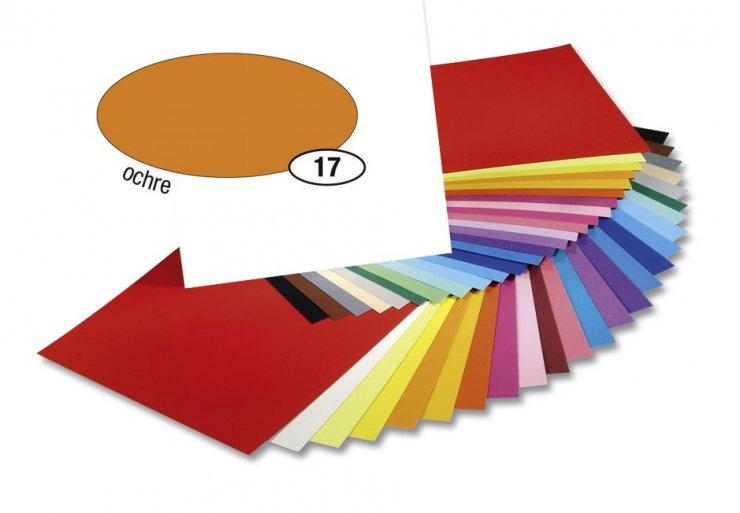 Barevný papír 300g A4- Okrový