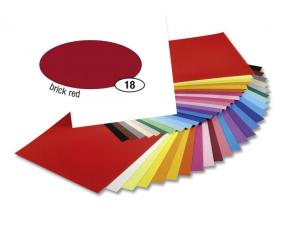 Barevný papír 300g A4- Červený tmavý