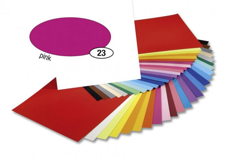 Barevný papír 300g A4- Růžový
