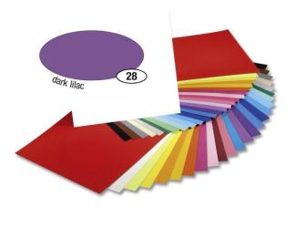 Barevný papír 300g A4- Fialový