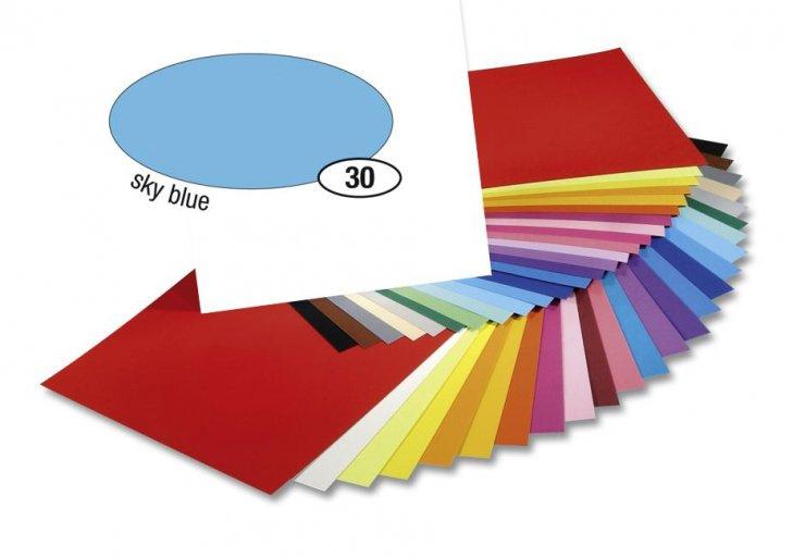 Barevný papír 300g A4- Modrý světlý