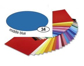 Barevný papír 300g A4- Modrý