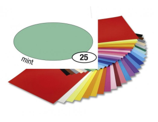 Barevný papír 300g A4- Mátový