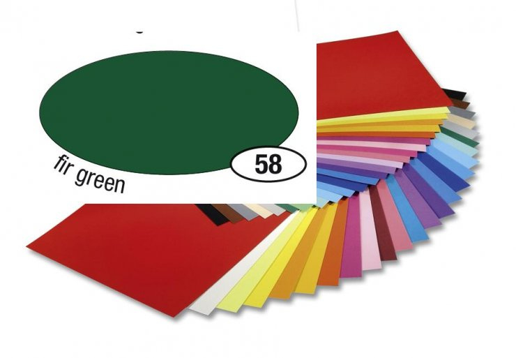 Barevný papír 300g A4- Zelený tmavý