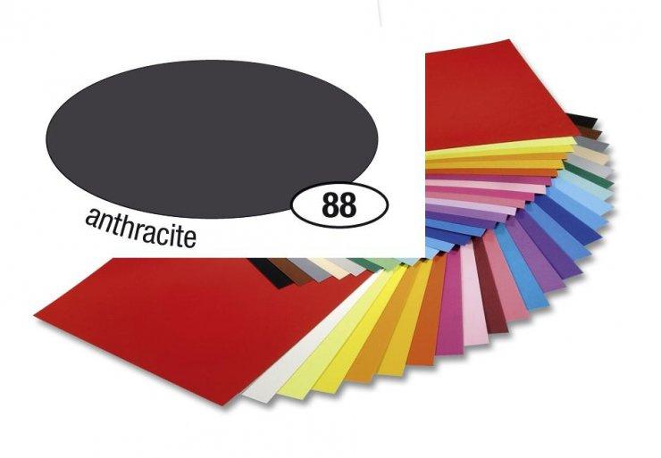Barevný papír 300g A4- Šedý tmavý