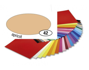Barevný papír 300g A4- Meruňkový