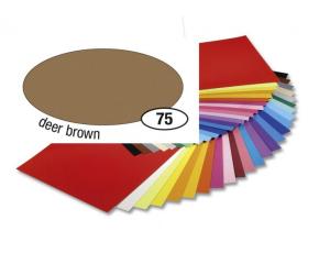 Barevný papír 300g A4- Hnědý světlý