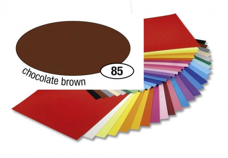 Barevný papír 300g A4- Hnědý