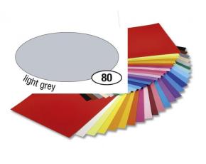 Barevný papír 300g A4- Šedý světlý