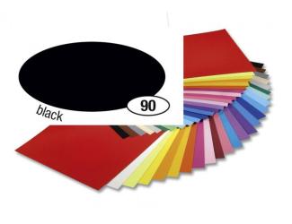 Barevný papír 300g A4- Černý