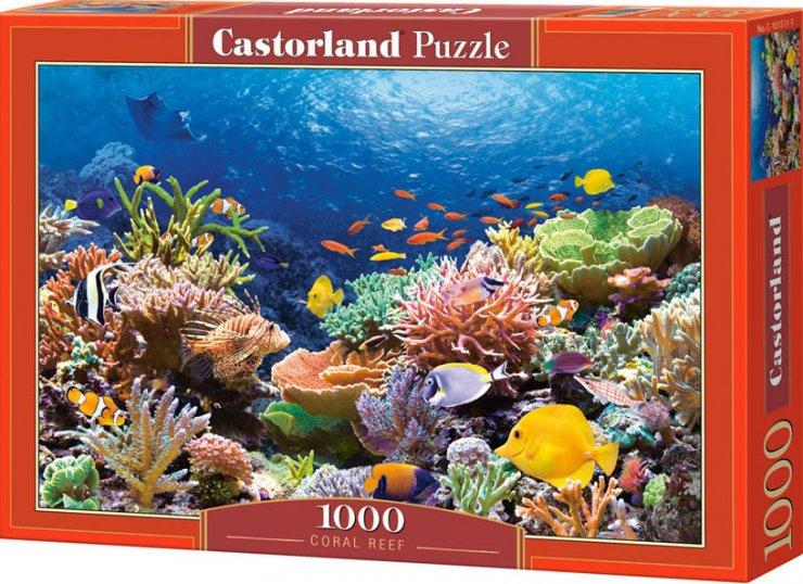 Puzzle Castorland 1000 dílků - Podmořský svět