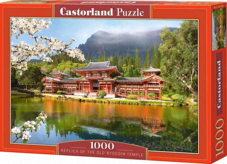 Puzzle Castorland 1000 dílků - Replika The Old Byodoin Temple