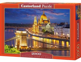 Puzzle 2000 dílků- Budapešť